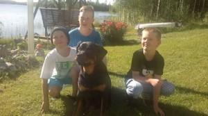 Jane ja pojat. :)